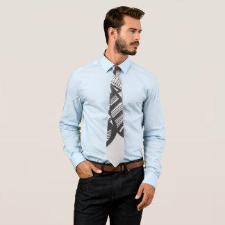 Funky Gekritzel-Krawatte Krawatte