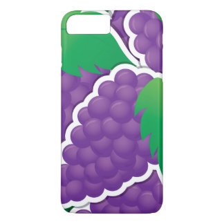 Funky lila Trauben iPhone 8 Plus/7 Plus Hülle