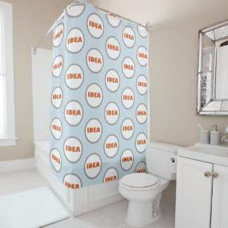 Funky personalisierter Ideen-Duschvorhang Duschvorhang