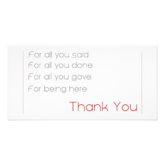 für alle - danke fotokarte