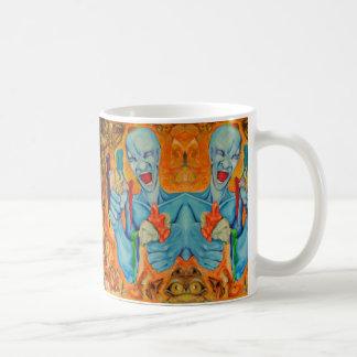 Für bin mich Künstlerwiederholungs-Kunst-Tasse Kaffeetasse