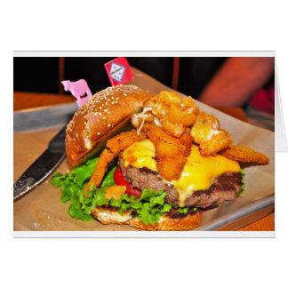 Für den Burger-Liebhaber in Ihrem Leben Karte