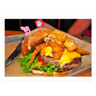 Für den Burger-Liebhaber in Ihrem Leben Postkarte