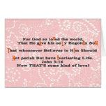 Für den Gott so geliebt der Welt, - Cust… - Besond Grußkarten
