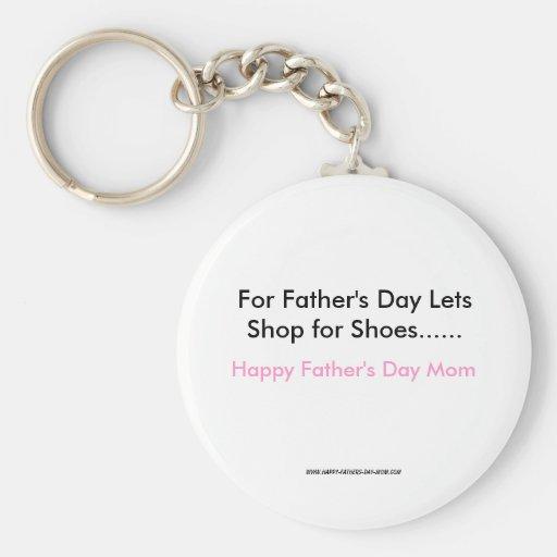 Für den Vatertag lässt Geschäft für Schuhe ......, Schlüsselbänder