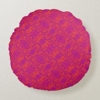 Für die Liebe des Dekors - marokkanisches rosa Rnd Rundes Kissen