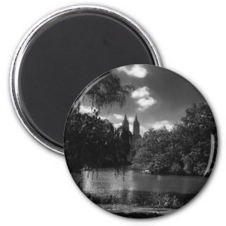 Für die Liebe von NYC Magneten Runder Magnet 5,7 Cm