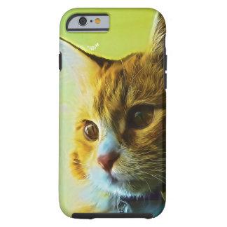 Für die Liebhaber der Katze Tough iPhone 6 Hülle