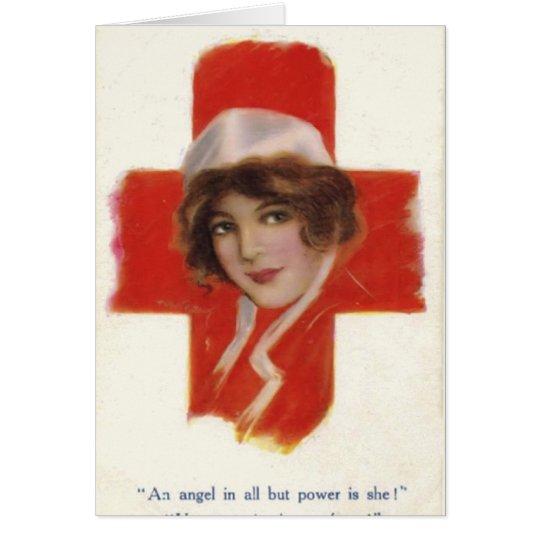 Für eine spezielle Krankenschwester Grußkarte