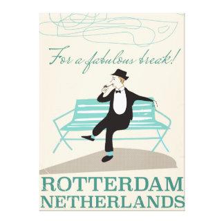 Für einen fabelhaften Bruch! Rotterdam, die Leinwanddruck