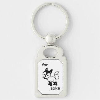 Für Fox-Grund-Schlüsselring Schlüsselanhänger