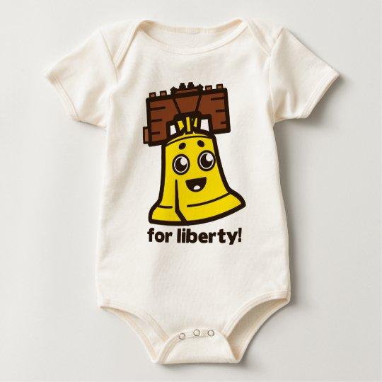 Für Freiheit Baby Strampler