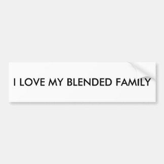 Für gemischte Familien Autoaufkleber