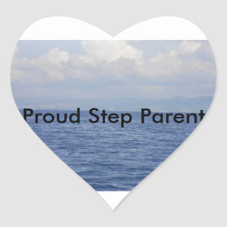 Für gemischte Familien Herz Sticker