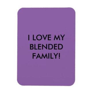 Für gemischte Familien Magnet