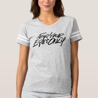 Für Ihren Augen-nur Fußball-T - Shirt