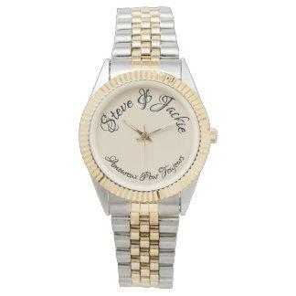 Für immer in der französischen Damenuhr der Liebe Uhr