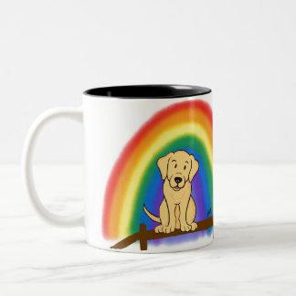 Für immer in meinem Herzen (YL) Zweifarbige Tasse