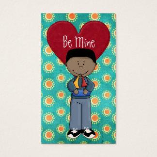 Für Kinder auszuteilen Valentinstag-Karten, Visitenkarte