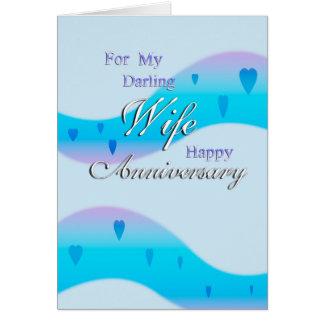 Für meine Ehefrau (Jahrestag) Karte