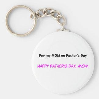 Für meine Mamma am Vatertag Keychain Standard Runder Schlüsselanhänger