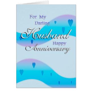 Für meinen Ehemann (Jahrestag) Karte
