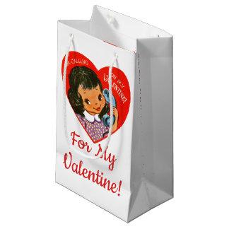 """""""Für meinen Valentinsgruß!"""" Retro Kleine Geschenktüte"""