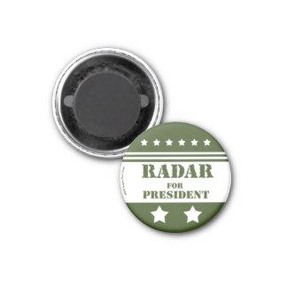 Für Präsidenten Radar Runder Magnet 3,2 Cm