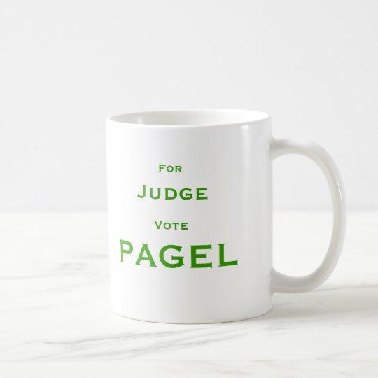 Für Richter-Abstimmung Pagel Kaffeetasse