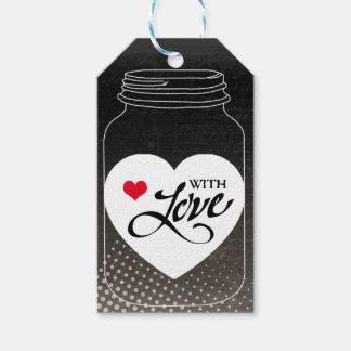 Für Sie mit Liebe Geschenkanhänger