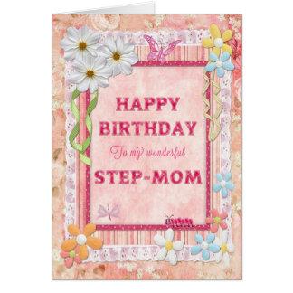 Für Stiefmutter Handwerksgeburtstagskarte Karte
