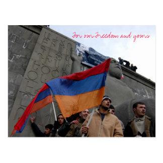 Für unsere Freiheit und Ihre Postkarten