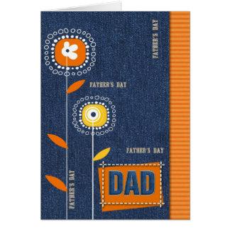 Für Vater am Vatertag. Kundenspezifische Karten