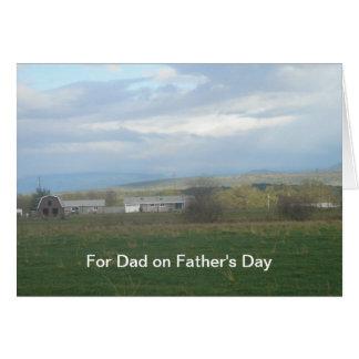 Für Vati am Vatertag Grußkarten