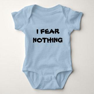Furcht nichts baby strampler