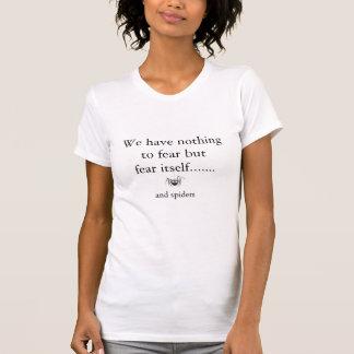 Furcht vor komischer Cartoonspinne der Spinnen T-Shirt