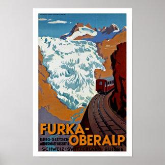 Furka-Oberalp Poster