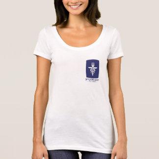 Furst 50. Jahrestag - Frauen blau T-Shirt