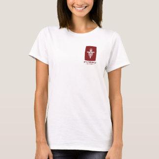 Furst 50. Jahrestag - Frauen rot T-Shirt