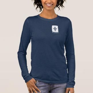 Furst 50. Jahrestag - Frauen-weißes kleines Langarm T-Shirt