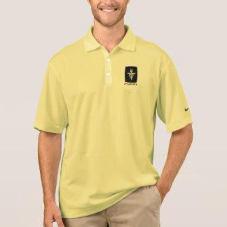 Furst 50. Jahrestag - Mann-Schwarzes Polo Shirt