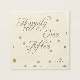 Fusian Papierservietten Romance Hochzeit