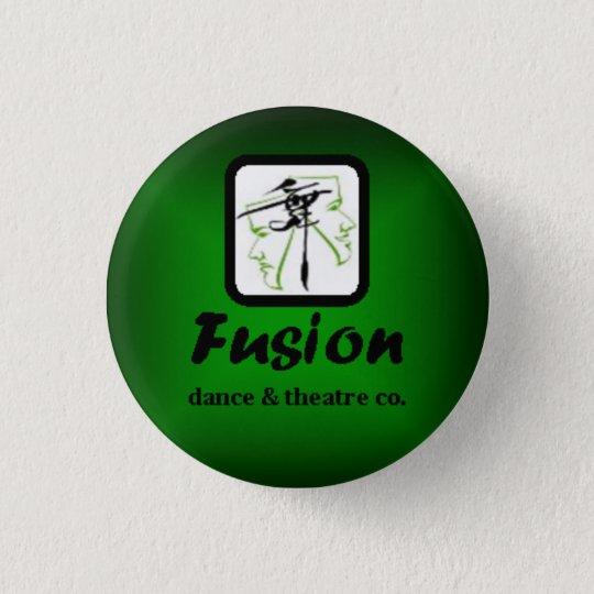 Fusions-grüner kleiner Knopf Runder Button 2,5 Cm