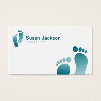 Fußarzt-Visitenkarte Visitenkarte