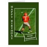 Fußball - alles Gute zum Geburtstag groß - Enkel Karten