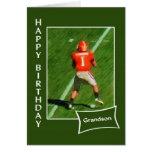 Fußball - alles- Gute zum Geburtstagenkel Karte