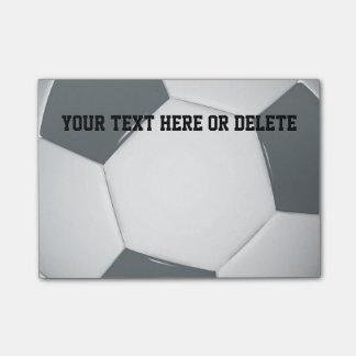Fußball-Anmerkungen Personalizable Fußball-| Post-it Klebezettel