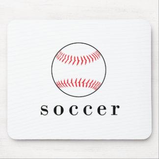 Fußball-Baseball-lustiger unglaublich witzig Mauspads