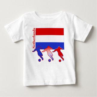 Fußball die Niederlande Baby T-shirt