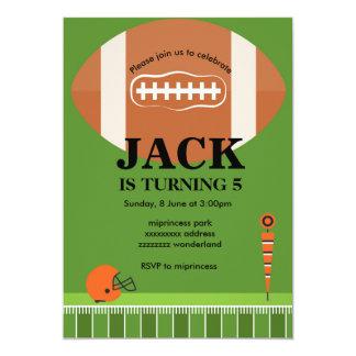 Fußball Einladung, Fußball, Sport, 12,7 X 17,8 Cm Einladungskarte